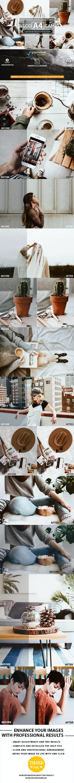A4 Vsco Cam Inspired for Blogger Lightroom Presets - Lightroom Presets Add-ons