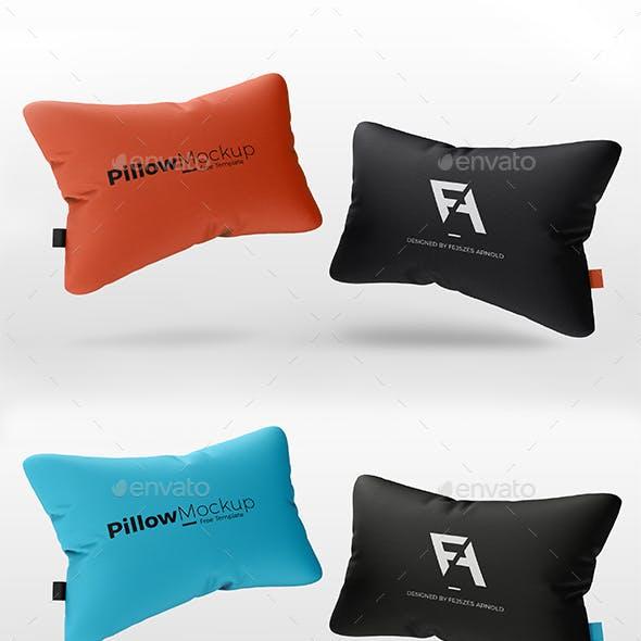 Realistic 3D Pillow Mock-Up