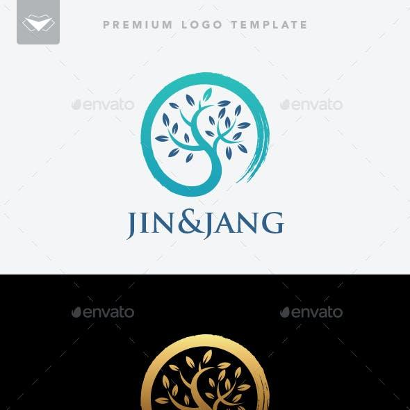Jin and Jang Logo