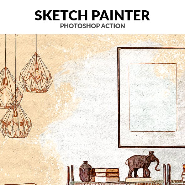Sketch Painter Photoshop Action