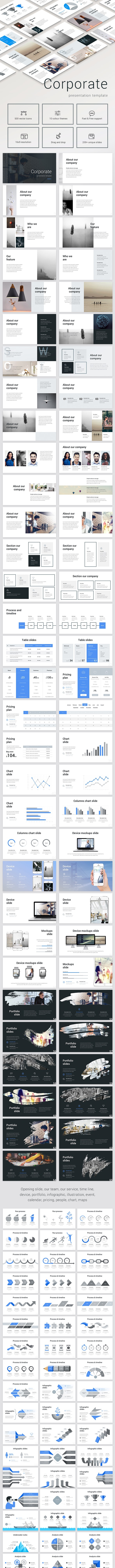 Corporate Business - Business Keynote Templates