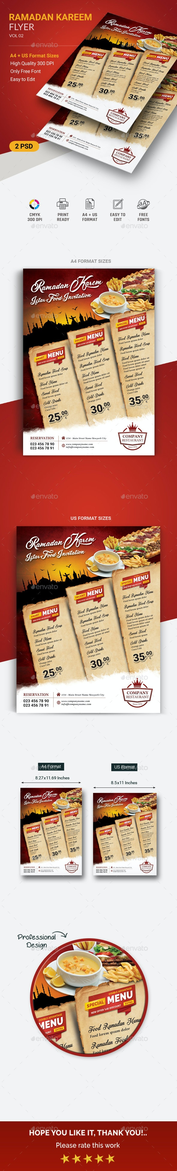 Ramadan flyer - Events Flyers
