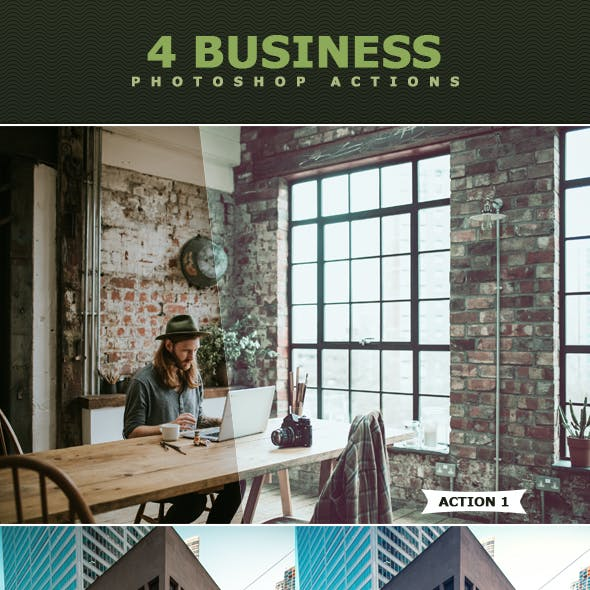 Business Photoshop Actions