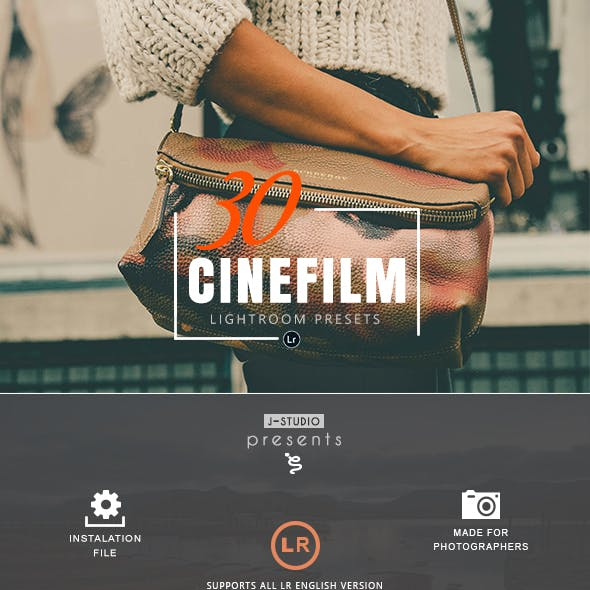 30 Professional Cinematic Film Lightroom Presets