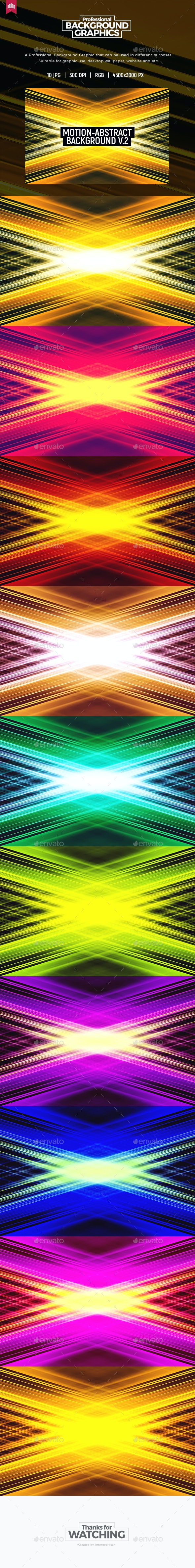 Motion Abstract - Background V.2 - Abstract Backgrounds