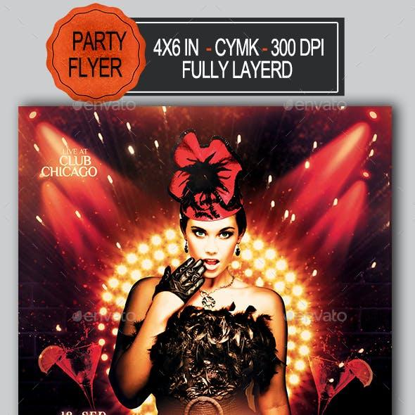 Burlesque Flyer