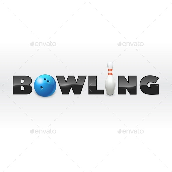 The Word Bowling - Sports/Activity Conceptual