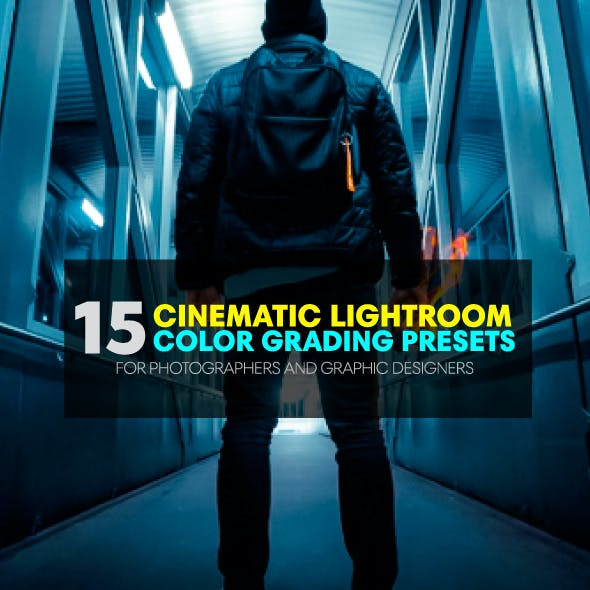 Premium Cinematic Lightroom Presets