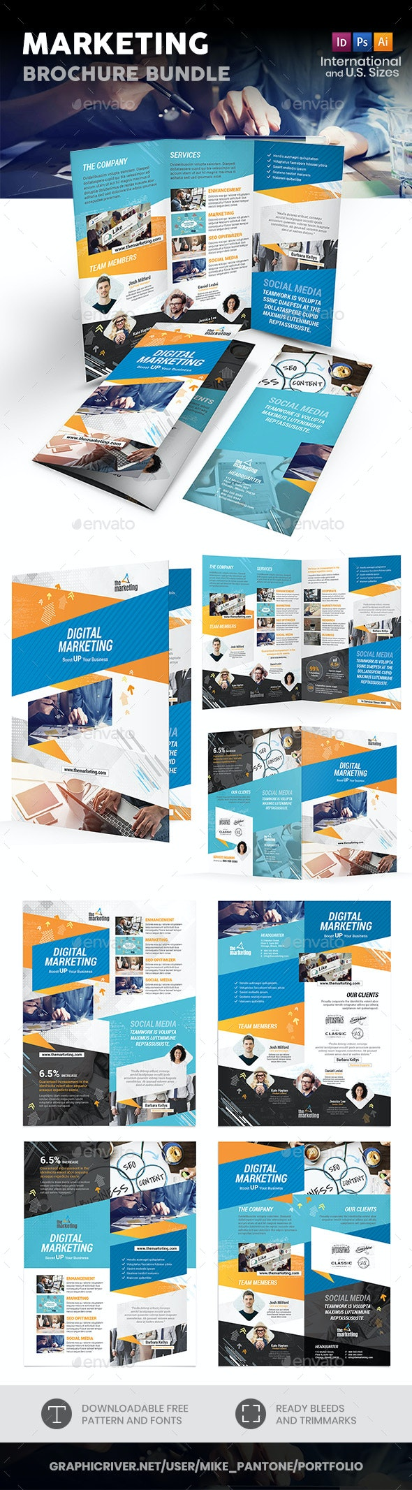 Marketing Print Bundle - Informational Brochures