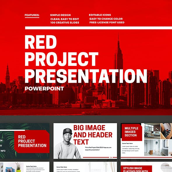 Red Project Powerpoint