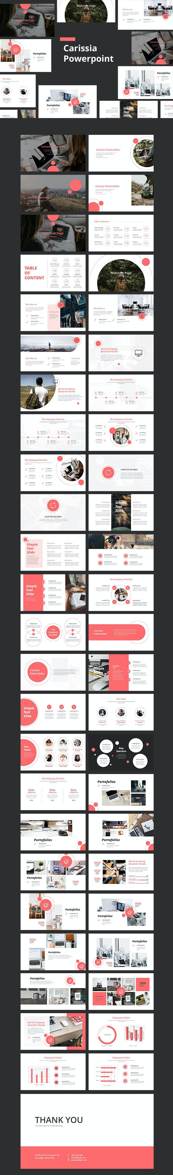 Carissia Powerpoint Templates - Creative PowerPoint Templates