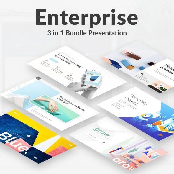 Enterprise Creative Bundle Powerpoint