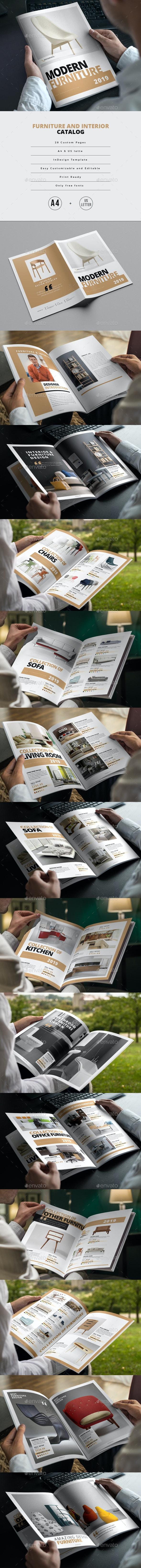Furniture and Interior Catalog - Catalogs Brochures