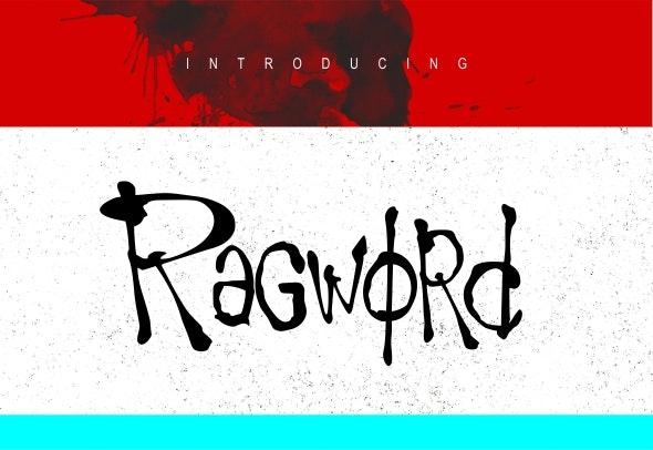 Ragword Font - Graffiti Fonts