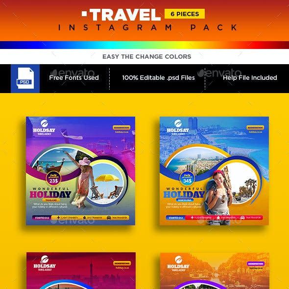 Travel Instagram Banner