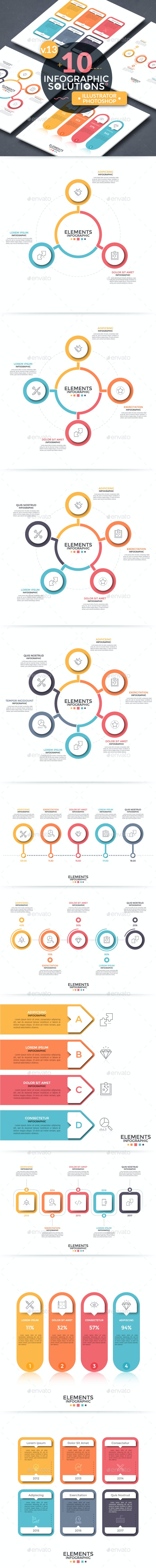 Infographic Solutions. Part 13 - Infographics