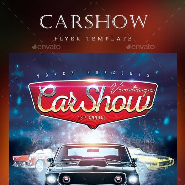 CarShow Flyer Template