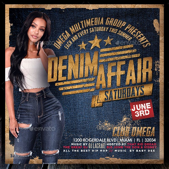 Denim Affair Saturdays