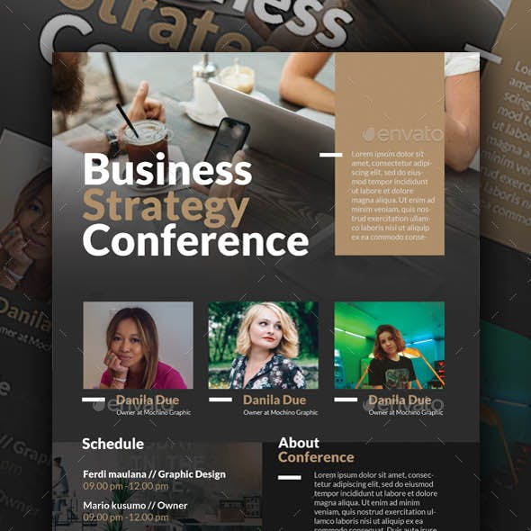 Business Conference Flyer Templates