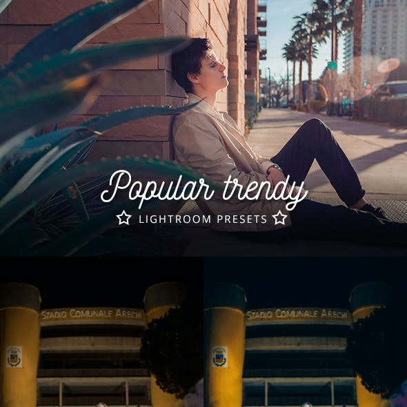 Popular Trendy Lightroom Presets