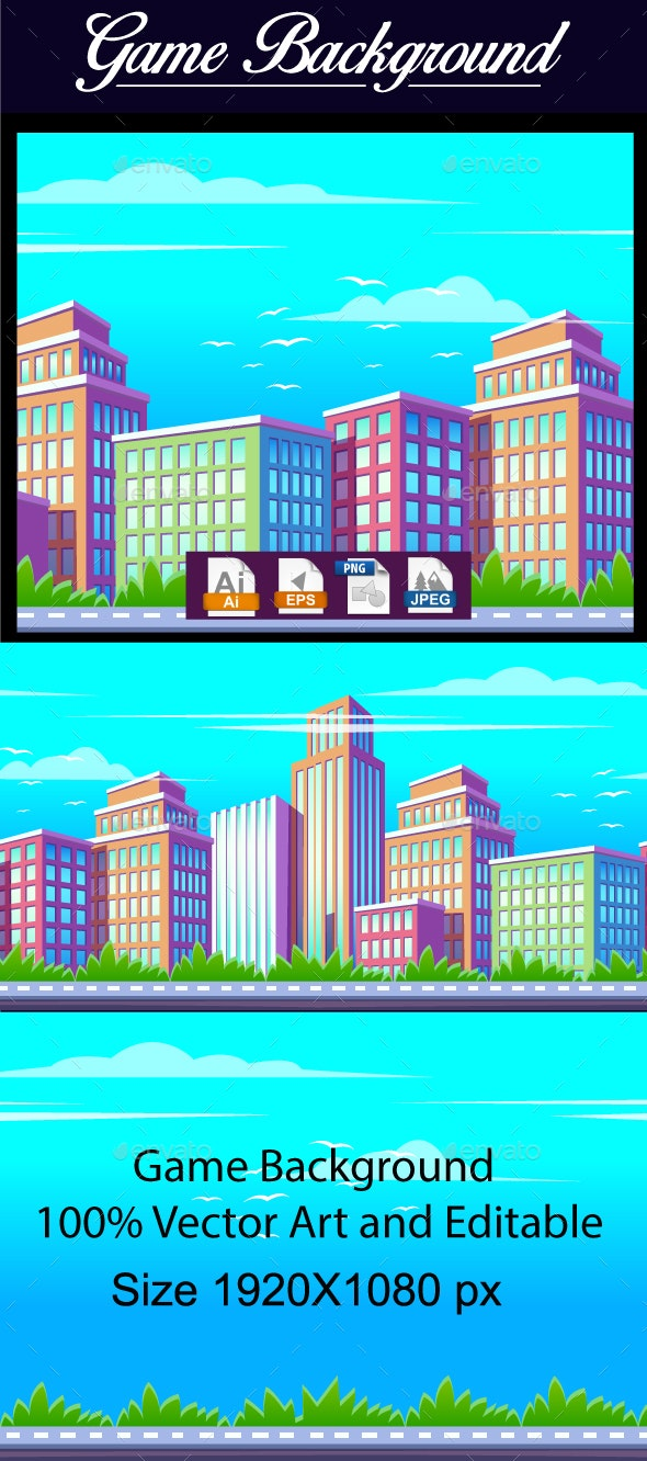 Game Background - Backgrounds Game Assets