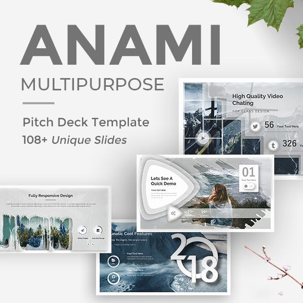 Anami Creative Powerpoint Template