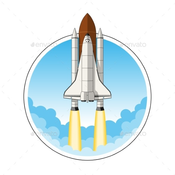 Space Shuttle Launch - Man-made Objects Objects