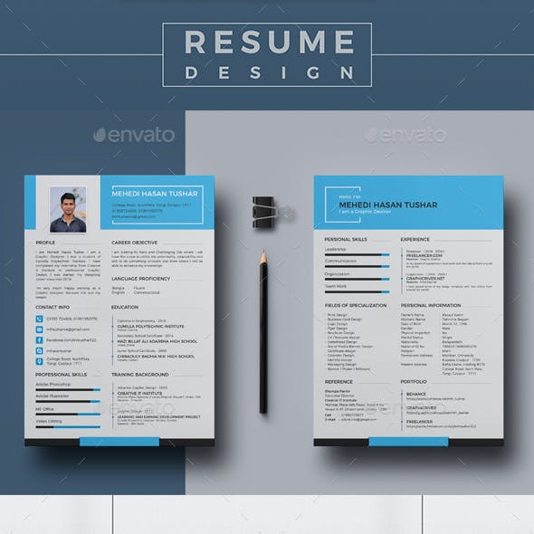 Personal  Resume & Cover Letter