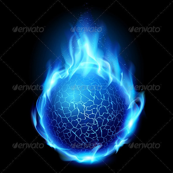 Fire Ball - Objects Vectors