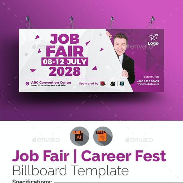 Job Fair Billboard Template