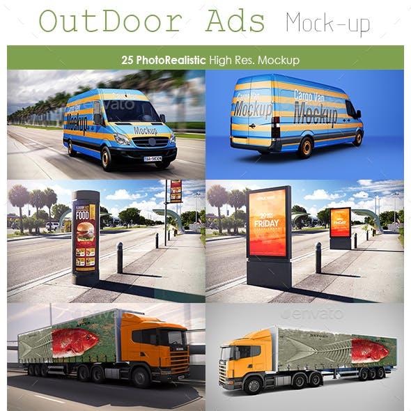 Outdoor Ads Mockup