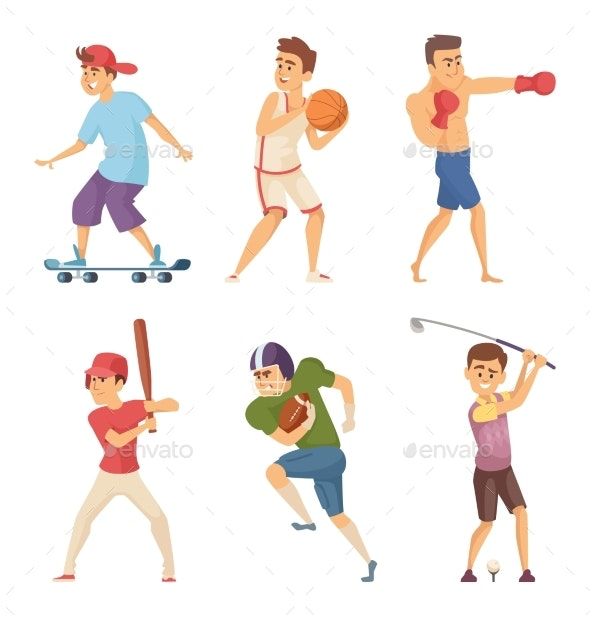 Different Sports Activities - Sports/Activity Conceptual