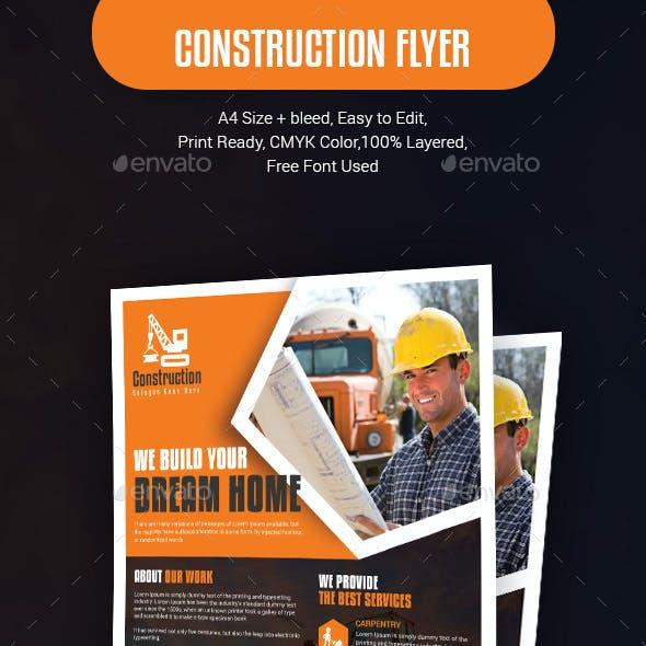 Construction Flyer