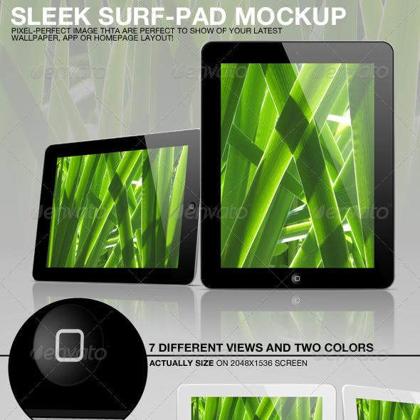 Sleek Surf-Pad Mockup