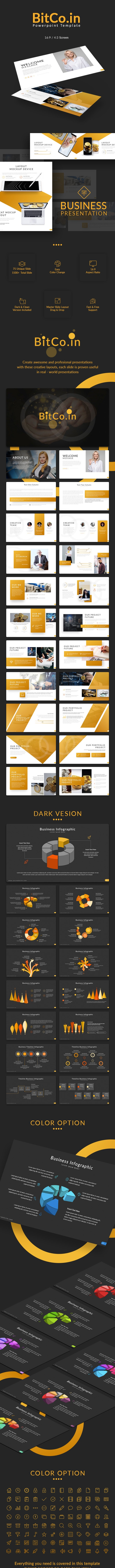Bitco.in Powerpoint Template - Business PowerPoint Templates