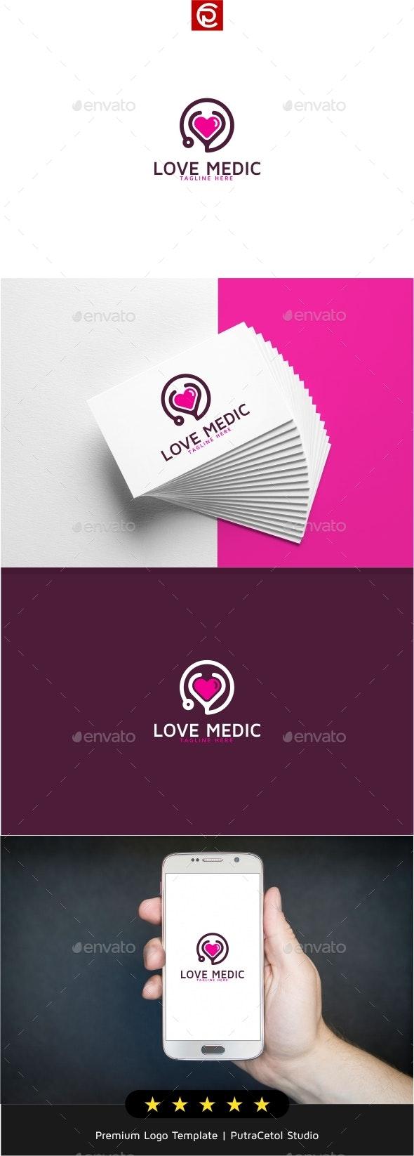 Love Medic Logo - Symbols Logo Templates