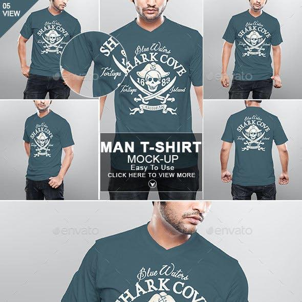 Man Tshirt Mockup Vol 2