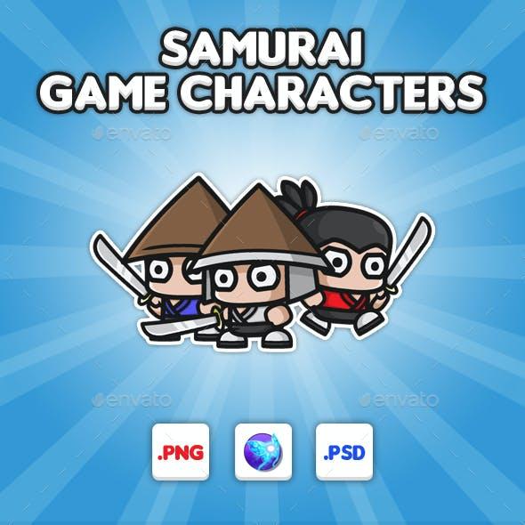 Samurai Chibi -  Game Characters