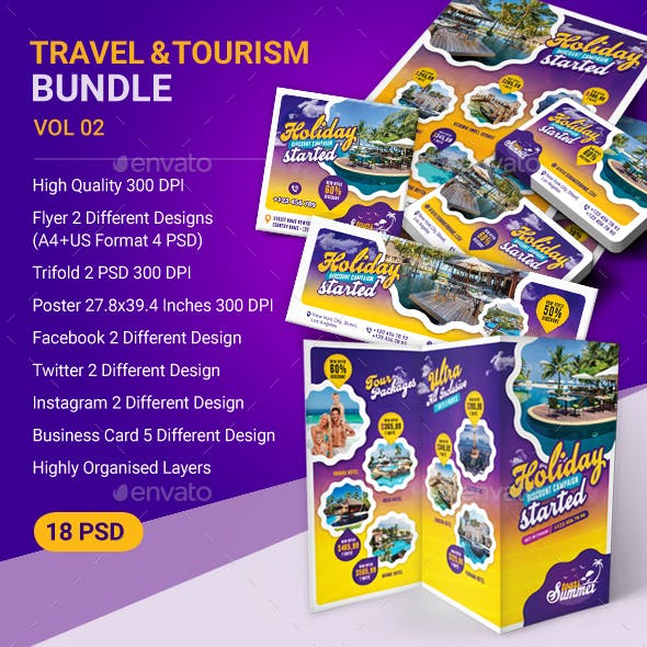 Tour and Travel Advertising Bundle