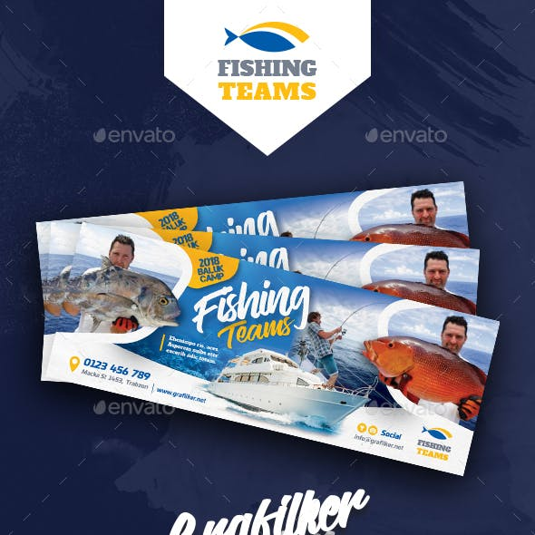 Fishing Tour Cover Templates