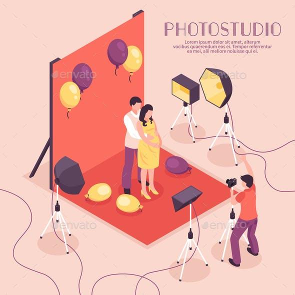 Photo Studio Illustration