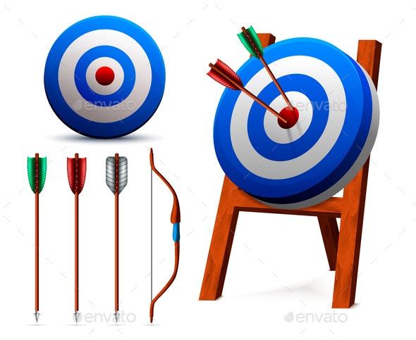 Realistic Targets Archery Set - Sports/Activity Conceptual
