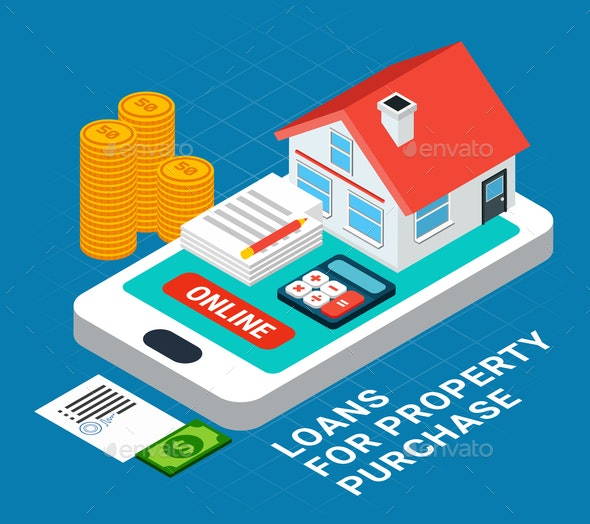 Online Property Purchase Composition - Industries Business