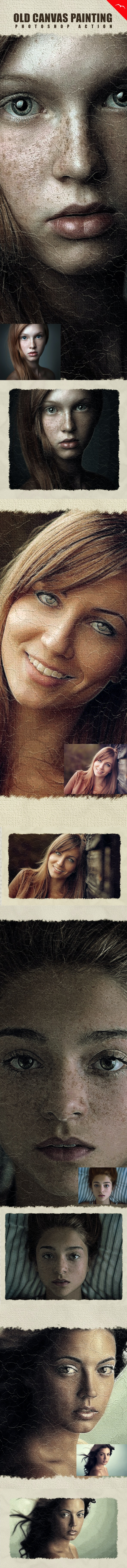Old Painting Effect - Photo Effects Actions