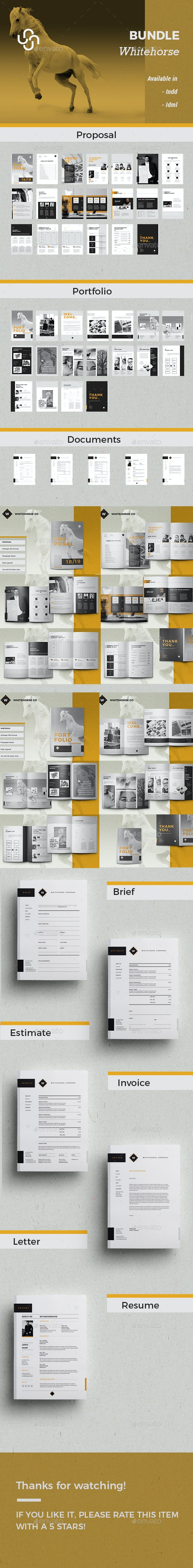 Bundle - Whitehorse - Corporate Brochures