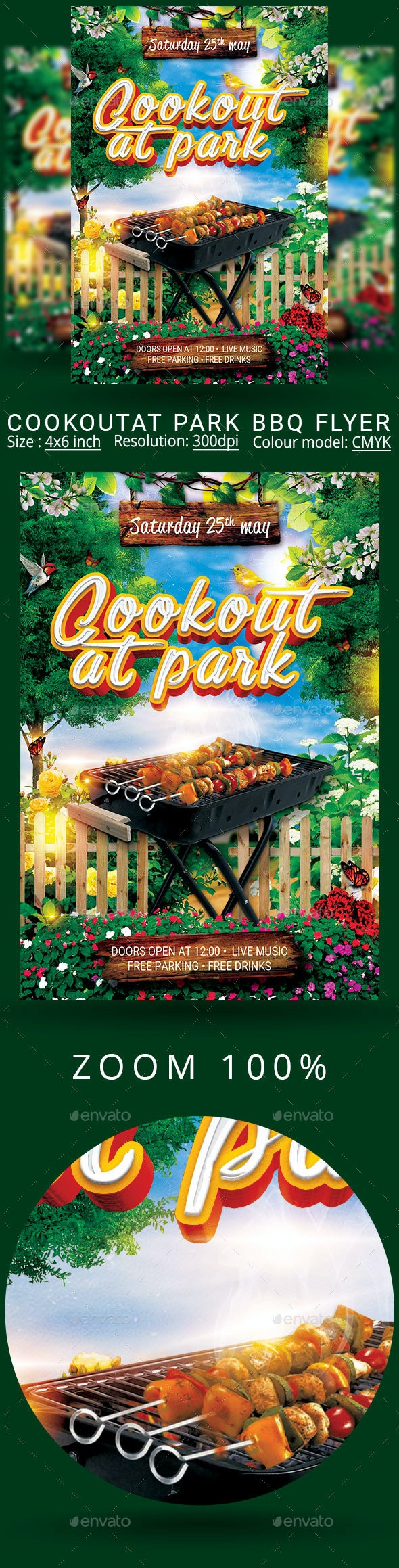 Bbq - Events Flyers