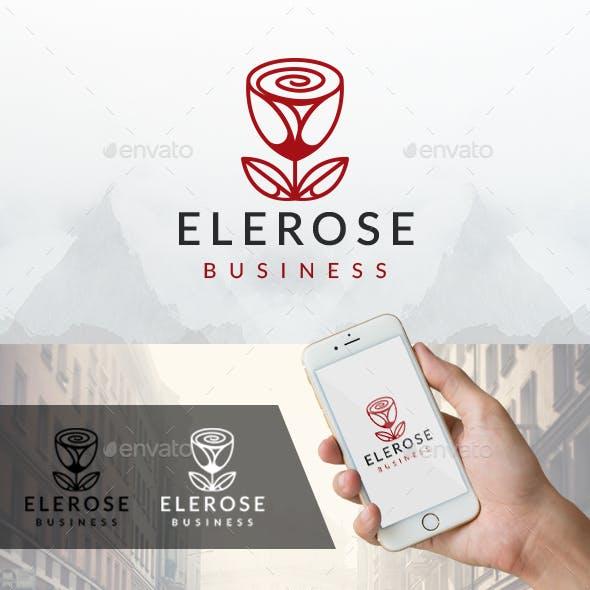 Elegant Rose Logo