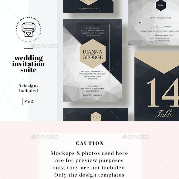 Wedding Invitation Suite 15