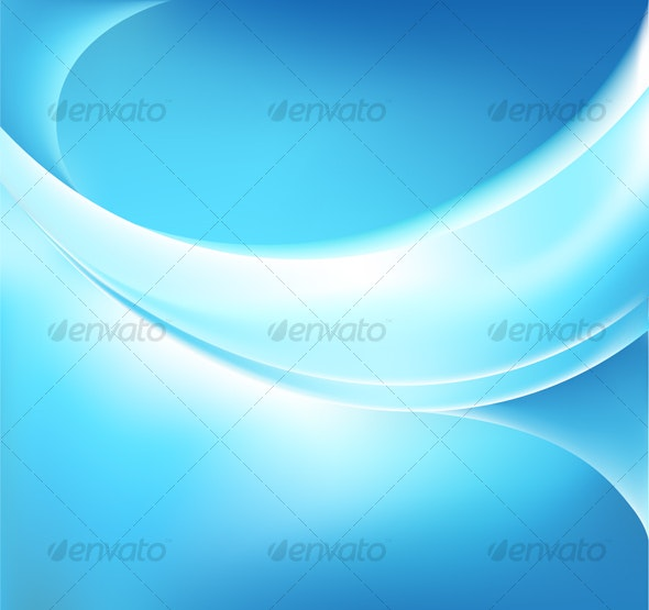 Vector Glowing Blue Backgound - Backgrounds Decorative