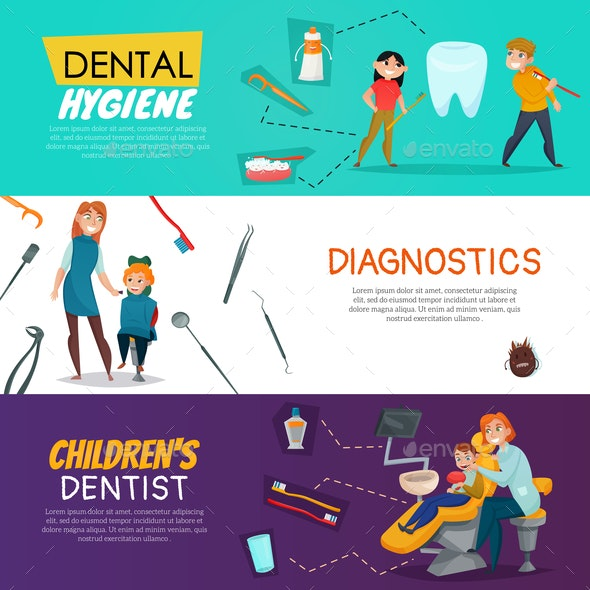 Dentistry Horizontal Banner - Industries Business